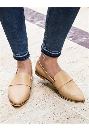 Mecrea Exclusive Molly Ten Loafer Ayakkabı