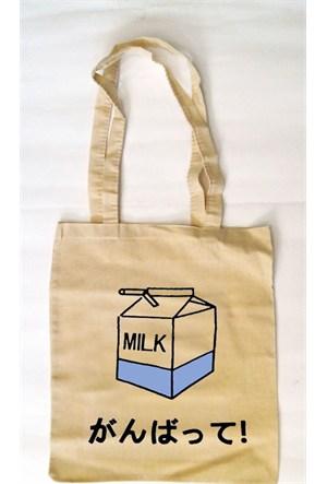 Köstebek Milk Bez Çanta Kbz067