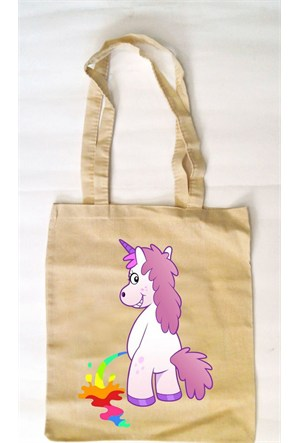 Köstebek Unicorn Pee Bez Çanta Kbz088