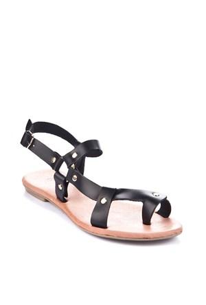 Gio&Mi Siyah Sandalet Ar110