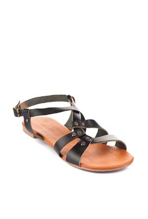 Gio&Mi Siyah Sandalet Srv120