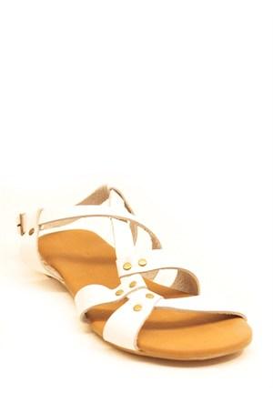 Gio&Mi Beyaz Sandalet Srv120