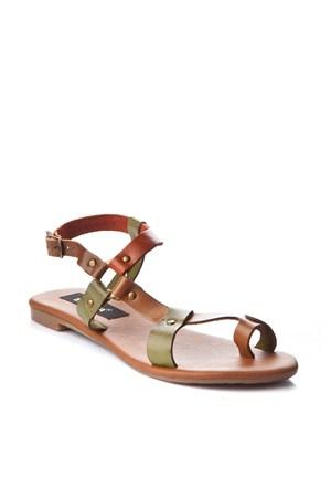 Gio&Mi Renkli Sandalet V10-625