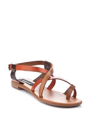 Gio&Mi Renkli Sandalet V12-235