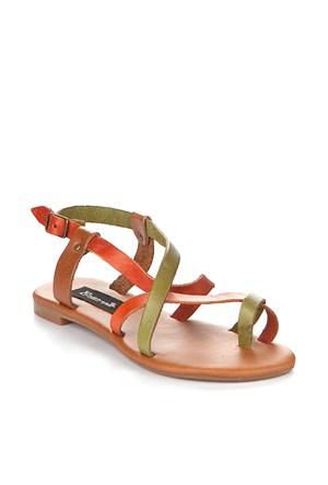Gio&Mi Renkli Sandalet V12-625