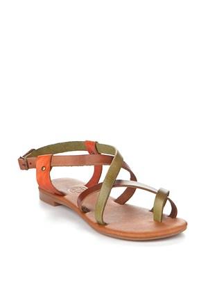 Gio&Mi Renkli Sandalet V12-652