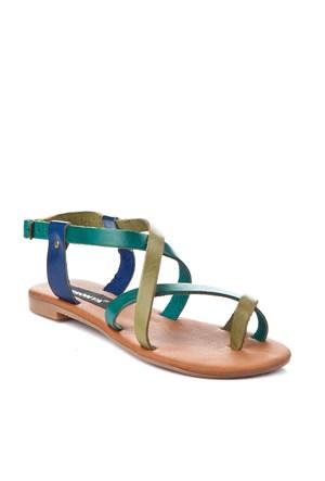 Gio&Mi Renkli Sandalet V12-674