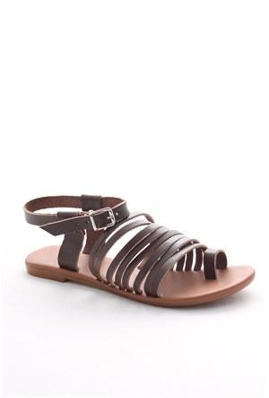 Gio&Mi Kahverengi Sandalet Z28kdm