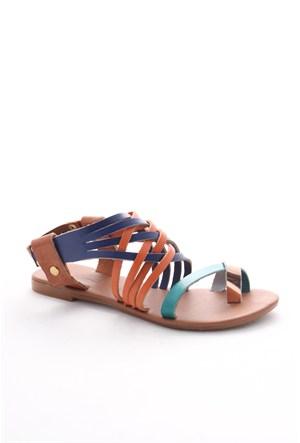 Gio&Mi Renkli Sandalet Tg-Cpr