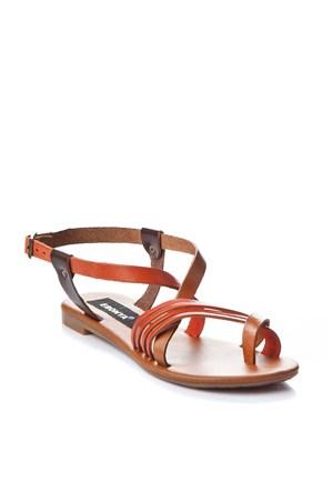 Gio&Mi Renkli Sandalet V4-235