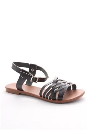 Gio&Mi Siyah Sandalet Hs-06