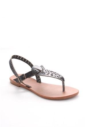 Gio&Mi Siyah Sandalet Hs-18