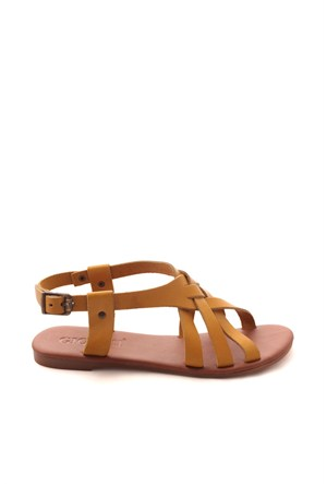 Gio&Mi Sarı Sandalet Hs-24