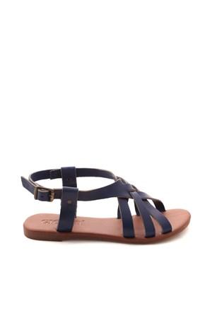 Gio&Mi Lacivert Sandalet Hs-24