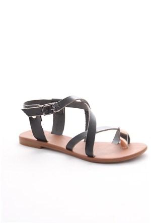 Gio&Mi Siyah Sandalet 700