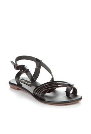 Gio&Mi Siyah Sandalet V4-1