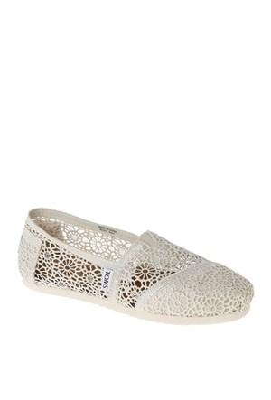 Toms Kadın Ayakkabı 001096B10 Kırık Beyaz