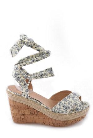 Twigy Rosy Kadın Dolgu Topuklu Sandalet