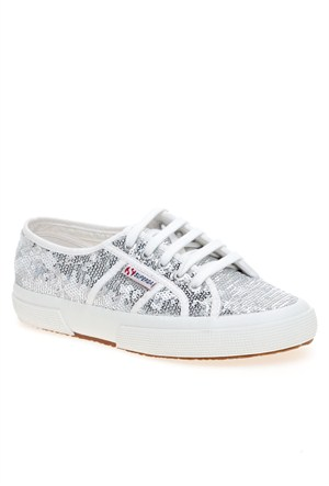 Superga 2750-Paiwreflex White-Silver Günlük Ayakkabı