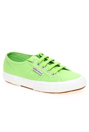 Superga S000010-560 2750-Cotu Classic Acid Green Kadın Günlük Ayakkabı