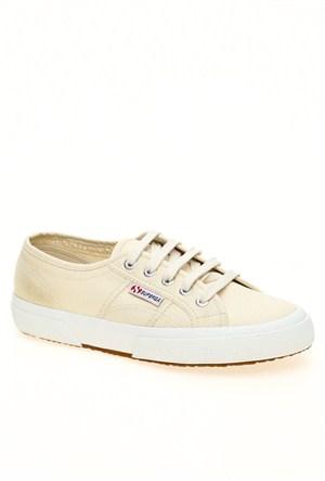 Superga Bej Bayan Spor Ayakkabı 2750
