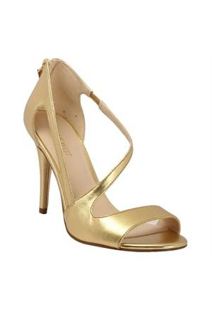 Nine West Kadın Ayakkabı Altın