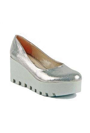 İnce Topuk Kadın Topuklu Ayakkabı Dore