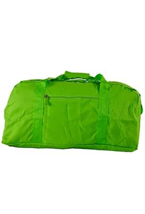 Bigg Fashion Yeşil Katlanabilir Duffel Çanta