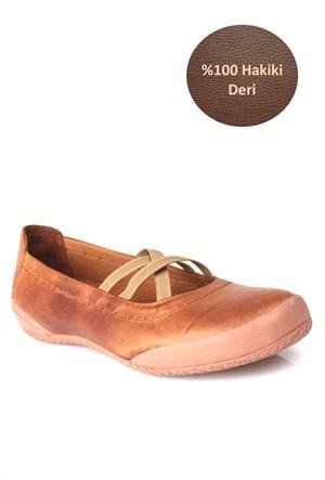 Loggalin Kadın Günlük Ayakkabı Taba