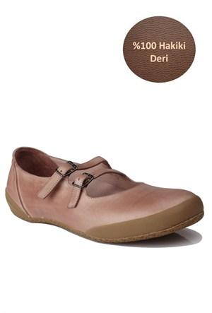 Loggalin Kadın Günlük Ayakkabı Pudra