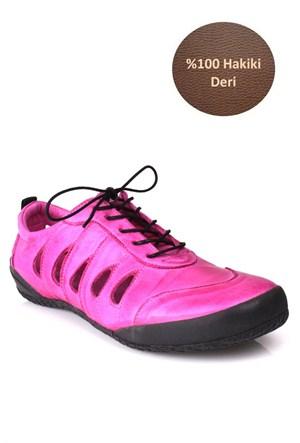 Loggalin Kadın Günlük Ayakkabı Pembe