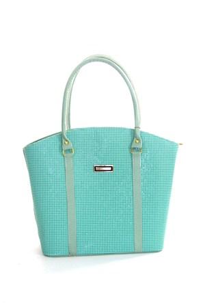 Angelo Rossi Kadın Çanta Su Yeşili