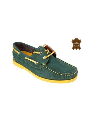 Wolfland Erkek Ayakkabı Yeşil