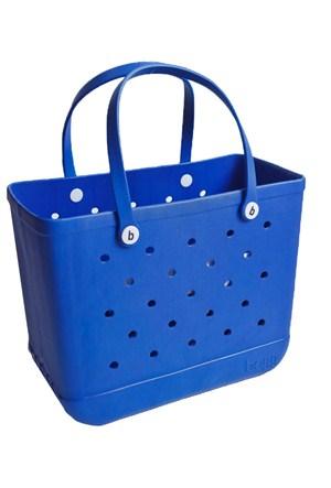 Bogg Bag Büyük Boy Plaj Çantası Mavi