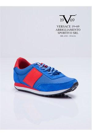 Versace 19.69 Abbigliamento Sportivo SRL Kadın Günlük Ayakkabı Saks