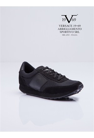 Versace 19.69 Abbigliamento Sportivo SRL Kadın Günlük Ayakkabı Siyah