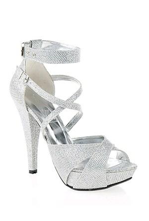 Derigo Kadın Topuklu Ayakkabı Gümüş
