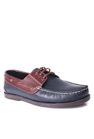 Kalahari Erkek Klasik Ayakkabı Lacivert Kahve