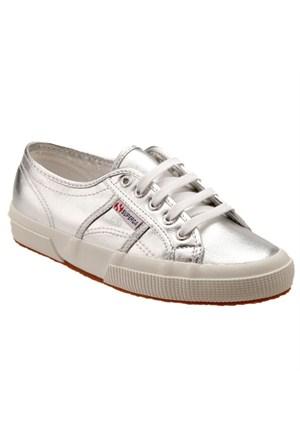 Superga S002Hg0-031 2750 Cotmetu Silver Kadın Günlük Ayakkabı