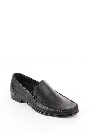 Gön 88586 Siyah Deri Erkek Ayakkabı