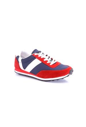 Versace 19.69 Abbigliamento Sportivo SRL Kadın Günlük Ayakkabı Kırmızı Lacivert Beyaz