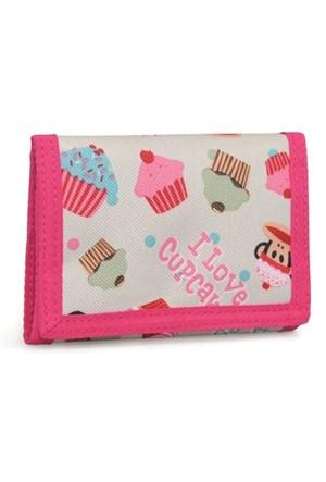 Paul Frank I Love Cupcakes Cüzdan