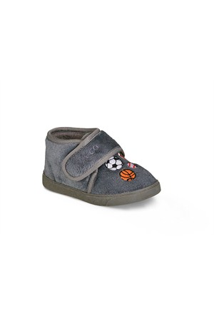 Vicco Cırtlı Kreş Ayakkabı Gri