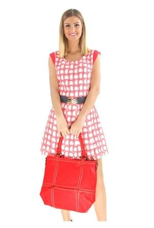 Berramore Nv-391-1 Kırmızı Bayan Çanta