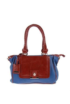 Luısıdo Kc8055 Mavi-Taba Bayan Çanta