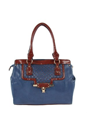 Luısıdo Kc8155 Blue-Red Bayan Çanta