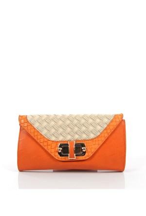 Luısıdo Py3633 Orange Çapraz Bayan Çanta
