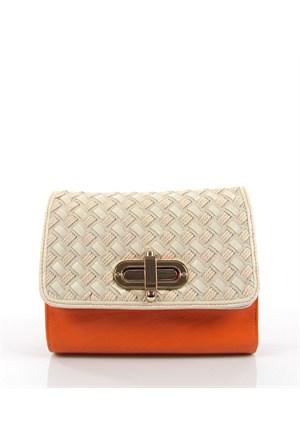 Luısıdo Py3835 Orange Çapraz Bayan Çanta