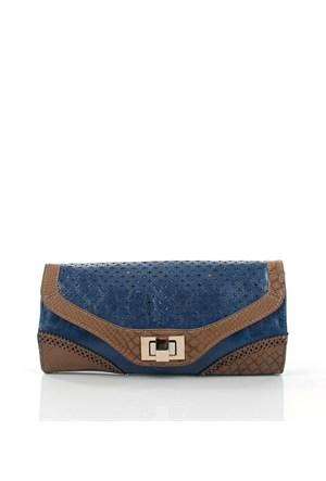 Luısıdo Py4632 Blue Çapraz Bayan Çanta