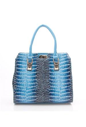 Rosa 9365 Blue Bayan Çanta